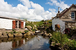 Cottage in cornwall Royalty Free Stock Photo