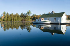 Cottage Country Stock Image