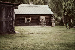 Cottage in the countryside Royalty Free Stock Photography