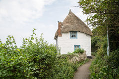 Cottage in Coverack Stock Image