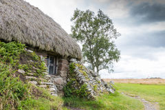 Cottage at Culloden Battlefield Royalty Free Stock Images
