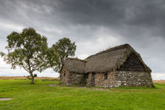Cottage at Culloden Battlefield Royalty Free Stock Image