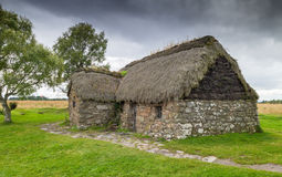 Cottage at Culloden Battlefield Royalty Free Stock Photos