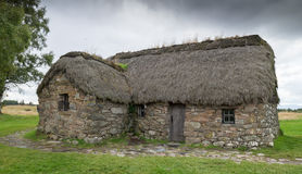Cottage at Culloden Battlefield Stock Images