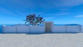 Cottage d'océan Photographie stock