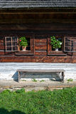 Cottage da Nolcovo - museo del villaggio slovacco, je del ¡ del hà di JahodnÃcke, Martin, Slovacchia Immagine Stock Libera da Diritti