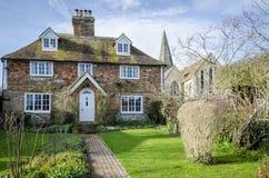 Cottage dans Kent Village Photos stock
