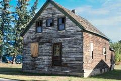 Cottage dans le Canada Photos libres de droits