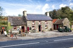 cottage de 200 ans, Kerry, Irlande Image libre de droits