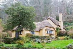 Cottage de chaume Photographie stock libre de droits