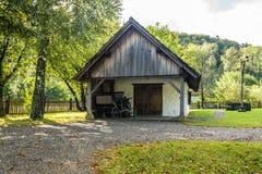 Cottage de forgeron Photographie stock