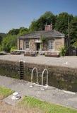 Cottage de gardiens de serrure Images stock
