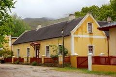 Cottage de Genadendal Images stock