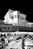 Cottage de week-end par la mer Photo libre de droits