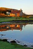 Cottage dei Crofters Immagini Stock