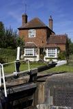 Cottage dei custodi di serratura Fotografia Stock Libera da Diritti
