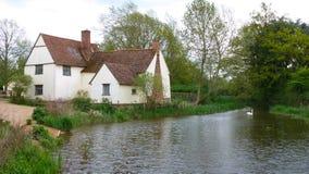 Cottage dei lotts di Willy Immagine Stock