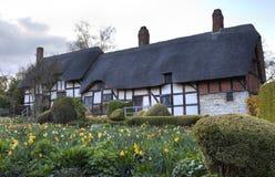 Cottage del Anne Hathaway Immagini Stock