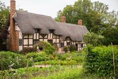 Cottage del Anne Hathaway immagini stock libere da diritti