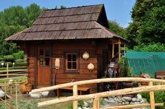 Cottage del giardino Immagini Stock