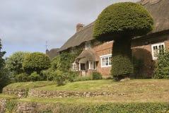 Cottage del paese Fotografie Stock Libere da Diritti