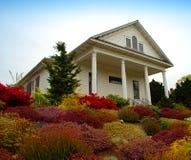 Cottage del paese Fotografia Stock