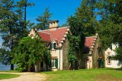 Cottage del ` s Sunnyside di Washington Irving immagine stock libera da diritti