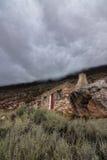 Cottage dell'alta montagna Fotografie Stock