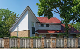 Cottage dell'elite sulla P Via di Klimo Fotografia Stock Libera da Diritti