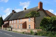 Cottage dell'operaio Thatched Fotografia Stock Libera da Diritti