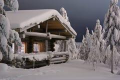 Cottage della foresta Fotografie Stock Libere da Diritti