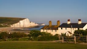 Cottage della guardia costiera Immagini Stock