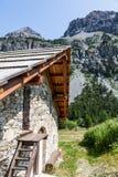 Cottage della montagna Immagine Stock