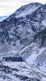 Cottage della montagna in alto Tatras, Slovacchia Immagini Stock