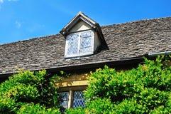 Cottage della pietra di Cotswold, Broadway Fotografia Stock