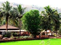 Cottage delle palme Fotografia Stock