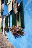 Cottage detail, Burano Royalty Free Stock Image