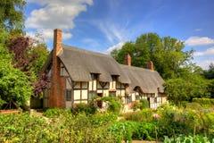 Cottage di Anne Hathaway fotografia stock
