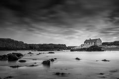Cottage 24-04-2017 di Ballintoy Fotografia Stock