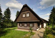 Cottage di Brown Fotografia Stock Libera da Diritti