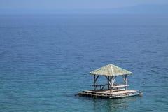 Cottage di galleggiamento Fotografia Stock