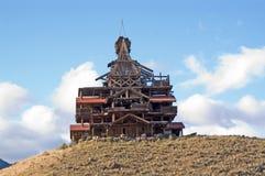 cottage di legno Fotografia Stock Libera da Diritti