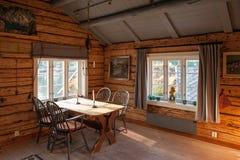 Cottage di Rorbu in Lofoten Immagini Stock