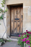 Cottage Door. Architectural Detail of a Cottage Doorway Stock Images