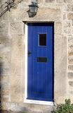 Cottage Door. Old blue english cottage door Royalty Free Stock Image