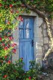Cottage door Stock Images