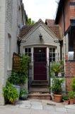 Cottage doorway Stock Image