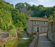 Cottage e campagna Immagine Stock