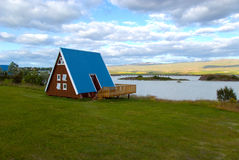 Cottage Egilsstadir in Iceland Stock Photography