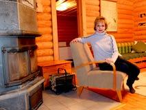 Cottage en Finlande Image stock